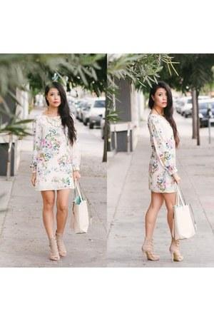 Lulus dress - Lulus bag - Lulus heels