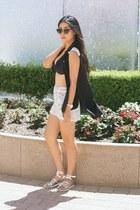 Guess watch - Tina  Jo shorts - Sole Society sunglasses