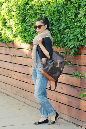 Louis Vuitton bag - Hammock and Palms sunglasses - Silver Jeans Co jumper