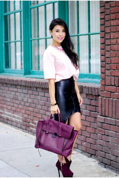 magenta carmen steffens boots - magenta 31 Phillip Lim purse