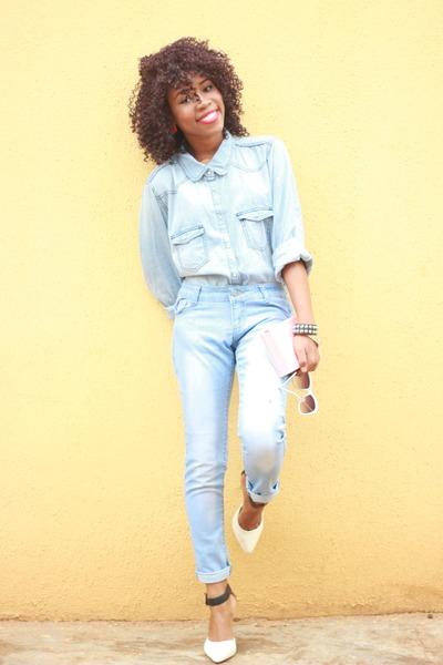 Primark shoes - American Apparel shirt