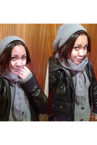 black hoodiee pull&bear jacket