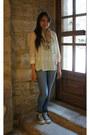 Skinny-primark-jeans-mint-h-m-shirt-stars-stradivarius-scarf
