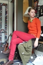 H&M jeans - J Crew sweater - Stacy Adams shoes