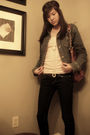 Blue-jacket-white-aldo-necklace-brown-forever-21-purse-pink-shirt-brown-