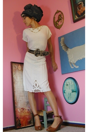 VINTAGE bali cutout dress