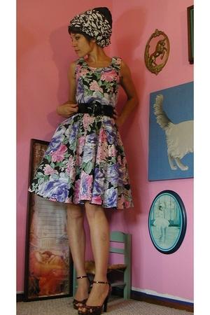 80's summer dress