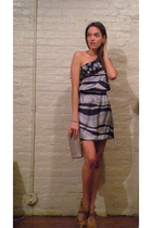 ShopMamiecom dress - tory burch shoes - HoBo International wallet