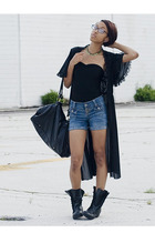 H&M shirt - shorts - intimate - shoes - forever 21 accessories