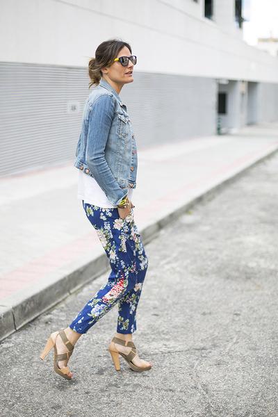 Zara pants - Knockaorund glasses - calvin klein heels