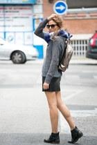 Zara skirt - Zara scarf - Lacambra bag - Zara jumper