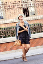 H&M jacket - Isabel Marant boots - sita murt dress