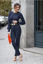 PFF suit - Zara shoes - Zara bag - elena estaun belt
