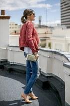 Zara blazer - Zara jeans - Lacambra bag - Knockaround sunglasses