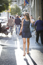 POPPOP dress - Nine West bag - Mango necklace - Nine West sandals