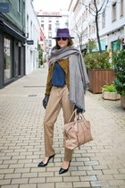 max&co sweater - Uterque jacket - TODS bag - Tom Ford sunglasses