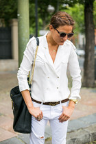 Zara jeans - Zara shirt - Zara bag - Zara sunglasses