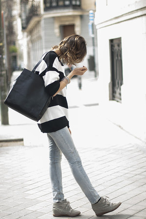 Zara dress - Zara jeans - &amp; other stories bag - Diesel sunglasses