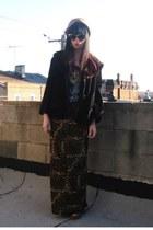 tawny vintage skirt