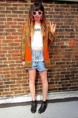hippie heart of gold sweater