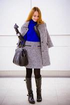 Zarina coat - Diane Von Furstenberg bag