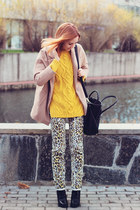 Choies coat - Sheinside sweater