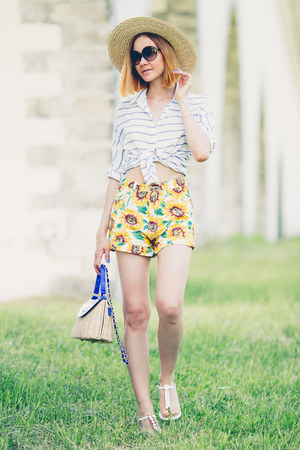 Sheinside shirt - Sheinside shorts