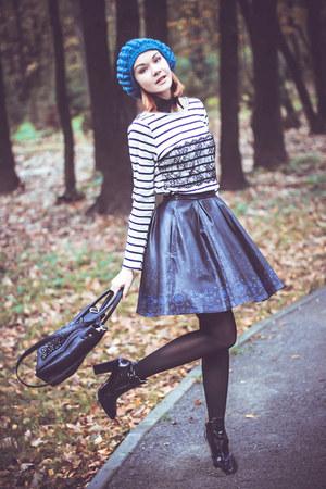 nowIStyle hat - nowIStyle top - asos skirt - Zara heels