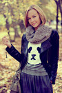 Gray-maxi-skirt-asos-skirt-black-biker-vero-moda-jacket