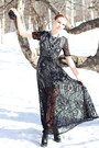 Black-lace-asos-dress-shabana-khan-necklace