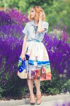 Chicwish skirt - Chicwish shirt