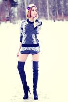 Topshop boots - Choies suit