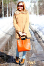 Burnt-orange-asos-boots-cream-nowistyle-coat-light-blue-uniqlo-jeans