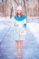 Front Row Shop skirt - Chicwish shirt - Sheinside necklace - asos heels