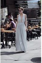 light blue Sheinside dress