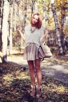 Chicwish sweater - Chicwish bag - WOAKAO necklace