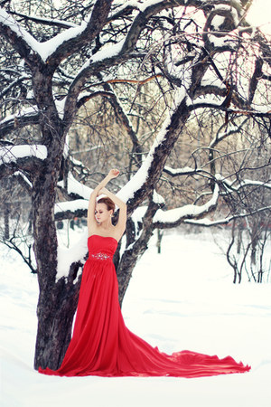 ruby red Msdressy dress