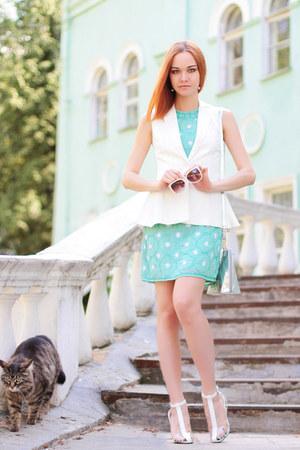 TFNC dress - Zarina jacket - Choies heels