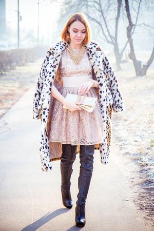 Sheinside coat - Love Republic dress