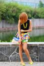 Nowistyle-dress-my-favorite-tiara-bag-zerouv-sunglasses-asos-flats