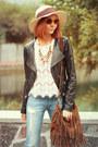 Persunmall-necklace-vero-moda-jacket-oasis-bag-wowvintage-sunglasses