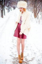 Sheinside cardigan - Chicwish skirt