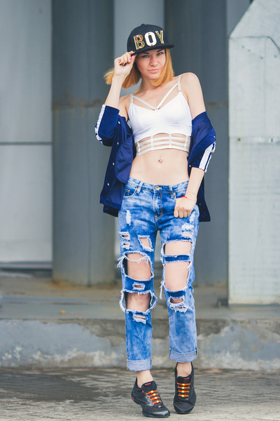 style moi jeans - style moi jacket - style moi top