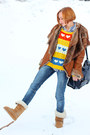 Navy-stradivarius-jeans-mustard-celtic-boots-udobuy-sweater