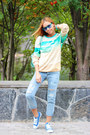 Choies-jeans-mr-gugu-miss-go-sweater-chicwish-bag-zerouv-sunglasses