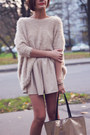 Beige-nowistyle-sweater-black-aldo-boots-gold-nowistyle-bag