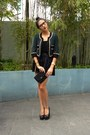 Forest-green-hong-kong-brand-blazer-black-no-brand-top