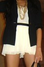 Paperbag-vintage-blazer-bag-topshop-shorts-claires-necklace-random-top-