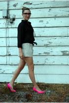 joe fresh style sneakers - H&M shirt - Urban Behaviour shorts