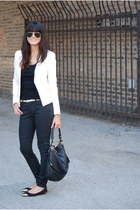 H&M blazer - rider jeans Gap jeans - boho bag Marc by Marc Jacobs purse